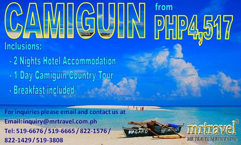 Camiguin Island Tour Package